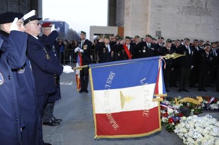 Cérémonie La Flamme Arc de Triomphe