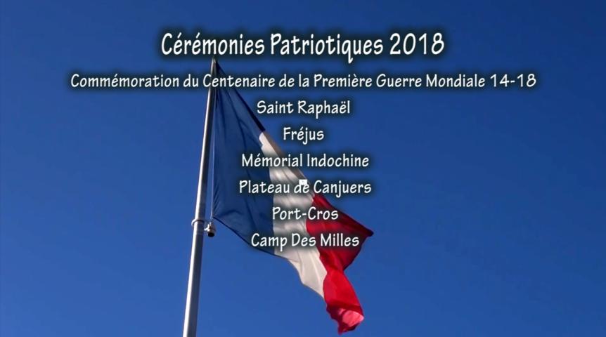 Cérémonies Patriotiques 2018